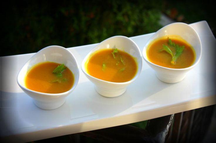 Coconut Curry Pumpkin Soup. | CaribbeanPot.com