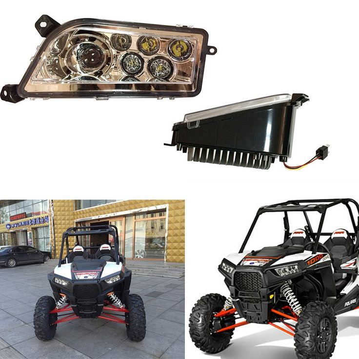 179.00$  Watch here - http://alidli.shopchina.info/1/go.php?t=32784911055 - For ATV Auto Accessories LED Headlight kit Headlamp for Polaris Razor Push 1000 RZR High/Low Dual Beam head light  #aliexpresschina