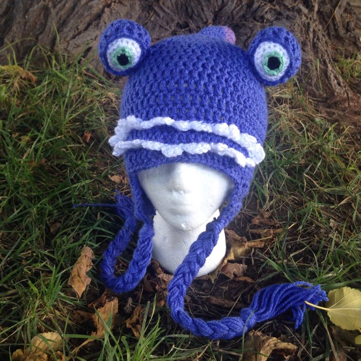 Crochet Randall hat from Monsters Inc check out my website and inline shop for more!   www.kristinsart4u.com  www.etsy.com/shop/kristinsart4u