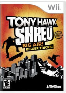 Tony Hawk Shred - Wii Game