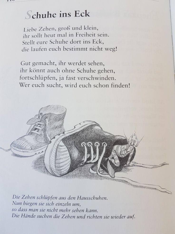 Schuhe ins Eck #fingerspiel #krippe #kita #kindergarten #kind #reim #gedicht #erzieherin #erzieher #fuß