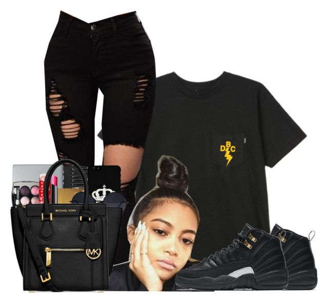 """""""Untitled #992"""" by shegr00vy ❤ liked on Polyvore featuring HUF and NIKE"""
