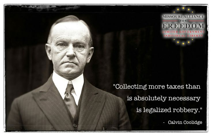 Calvin Coolidge was the last US President under which the government reduced in size.