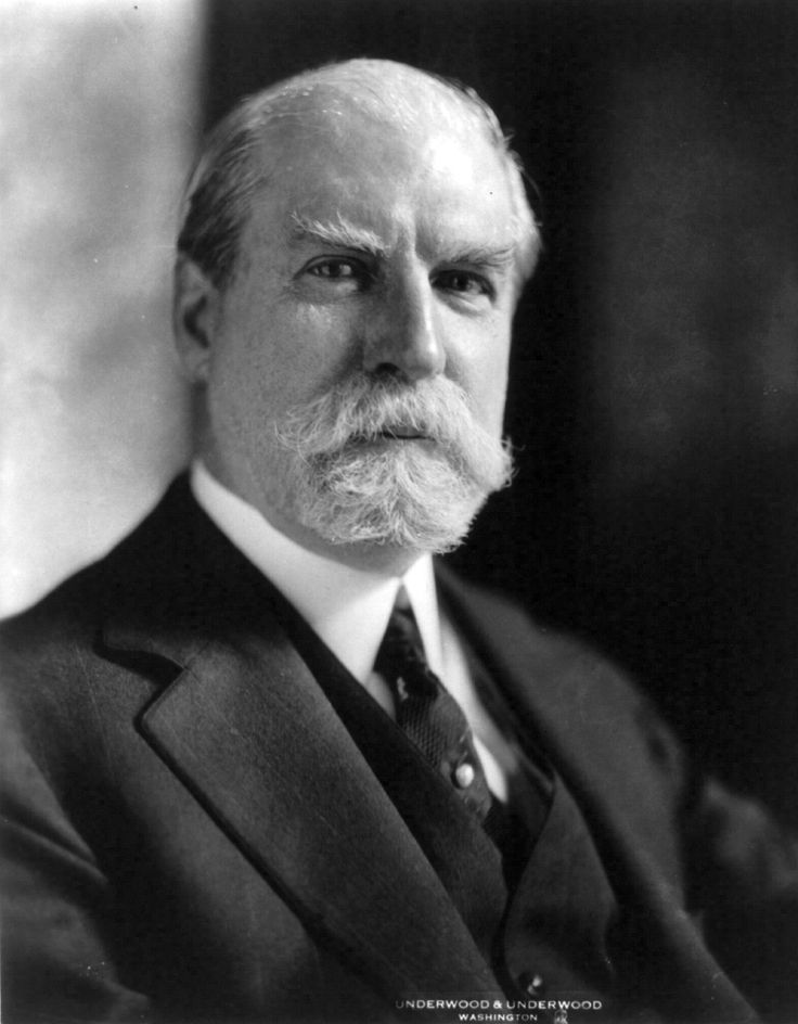 Charles Evans Hughes, Sr. was an American statesman, lawyer, and Republican politician from New York. He served as the 36th Governor of New York , Associate Justice of the Supreme Court of the United States , United States Secretary of State , a judge on the Court of International Justice , and the 11th Chief Justice of the United States . He was the Republican nominee in the 1916 U.S. Presidential election, losing narrowly to incumbent President Woodrow Wilson.