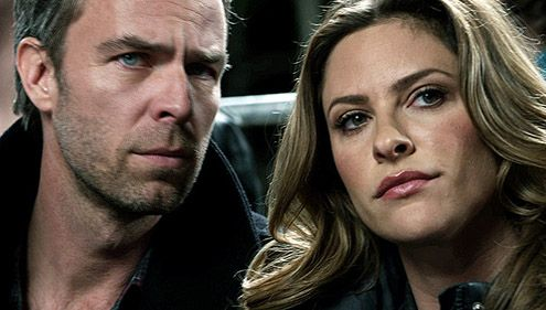 Teen Wolf: JR Bourne/Chris Argent & his sister on Teen Wolf Jill Wagner/Kate Argent