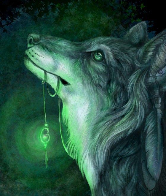Gifs loups  | Par Flora - Publié dans : gif animaux,poissons,dauphins,etc ...