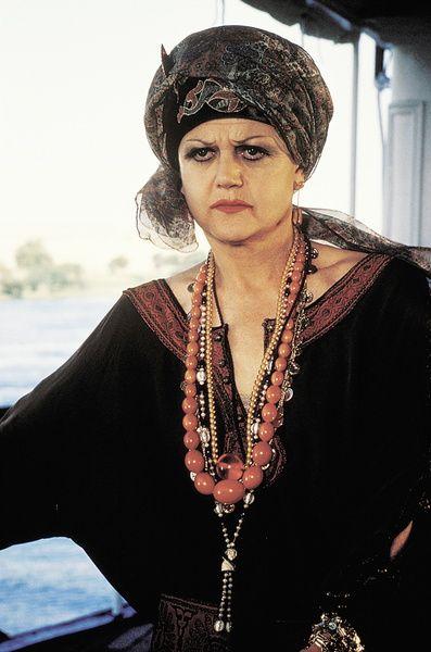 1978.  Death on the Nile. Angela Lansbury as Salome Otterbourne.