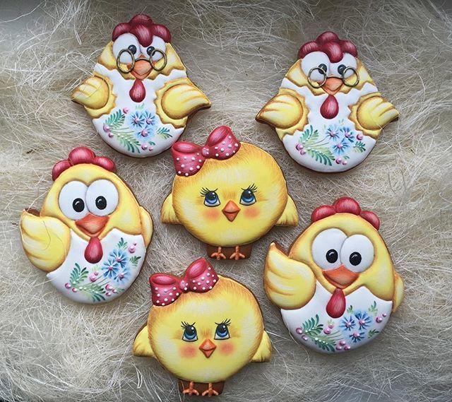 #цыплята #имбирныепряники #cookies #easter #пасха