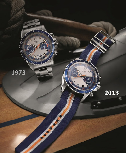 Tudor Heritage Chrono Blue Comparison to 1973