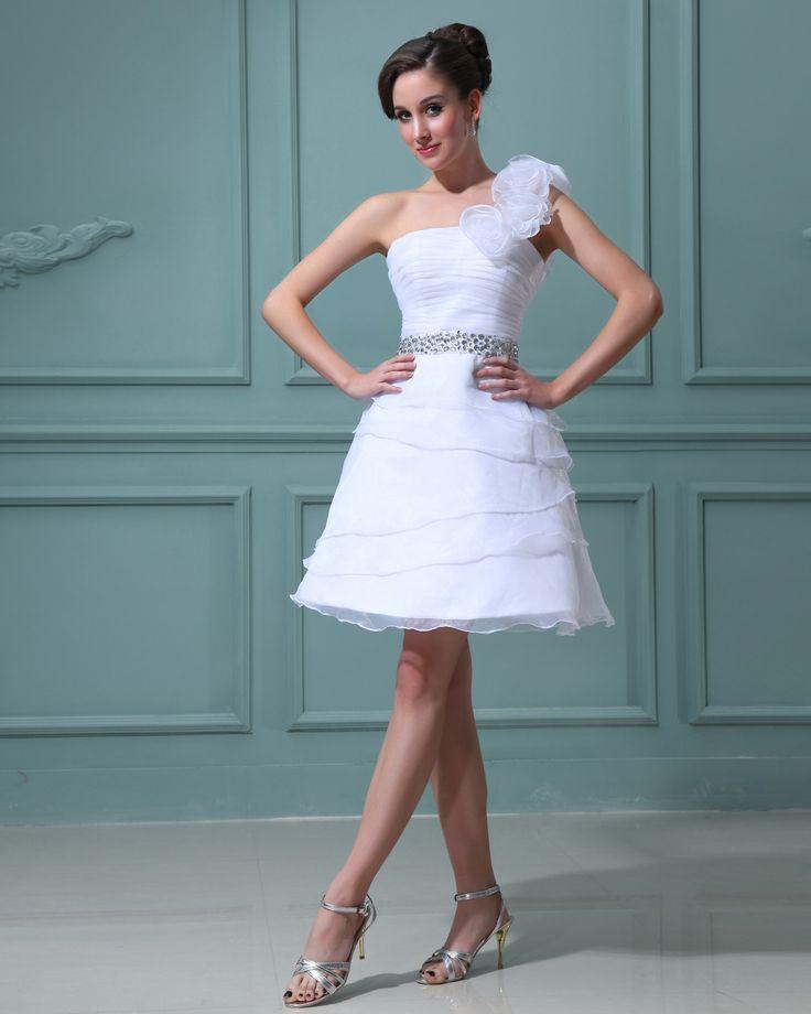 27 best Fashionable Short White Wedding Dresses images on Pinterest ...