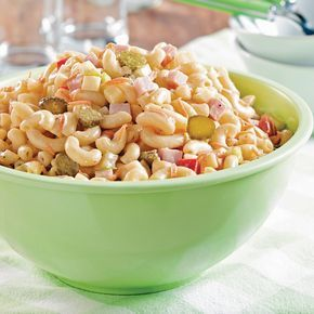 Une recette de salade de macaronis classique qui vous rappellera celle de votre mère!