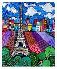 Eiffel Tower, Paris, France by Heather Galler