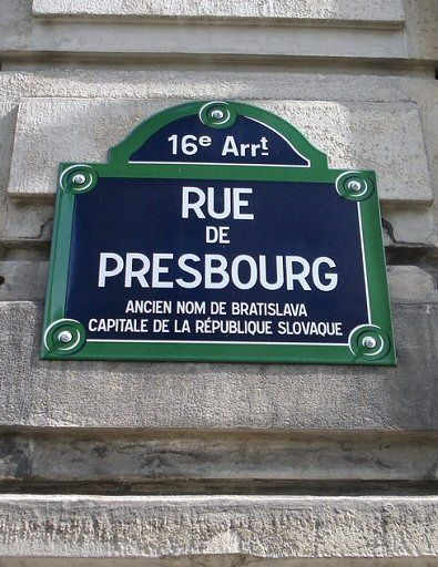 La rue de Presbourg (Paris 75008/75016)