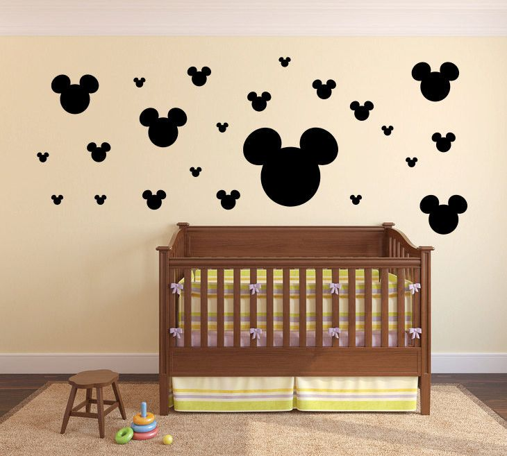 Best Mickey Mouse Wall Decals Ideas On Pinterest Minnie - Custom vinyl wall decals canada   how to remove