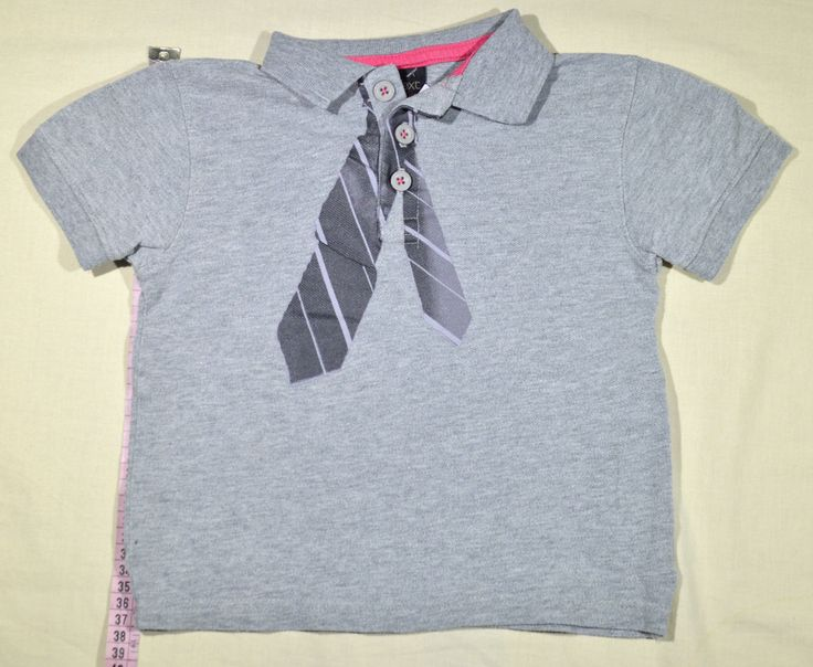 790 Ft. - Póló - szürke, nyakkendő mintás (Next)