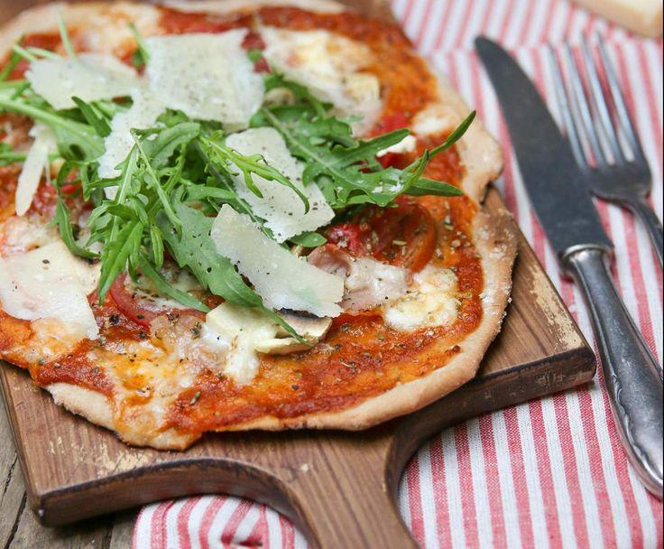 Vollkorn-Pizzateig