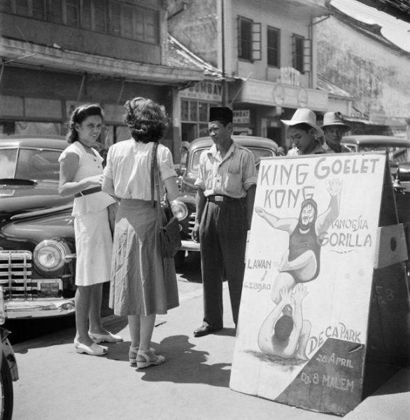 Pasar Baru, Djakarta (ca. 1950)