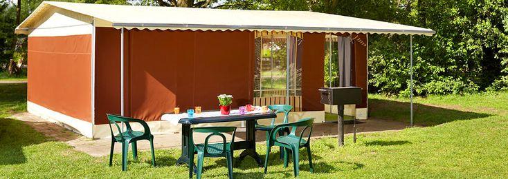 Geniet van het avontuur met toegang tot Safaripark de Beekse Bergen in deze luxe ingerichte tent voor grote gezinnen met 6 personen. Iedereen tevreden.