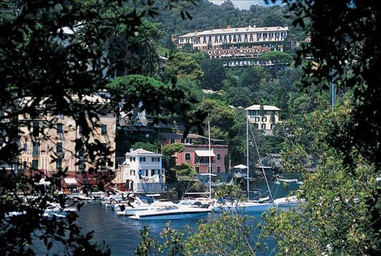 Hotel Splendido & Splendido Mare - View of Hotel Splendido from Portofino's promontor