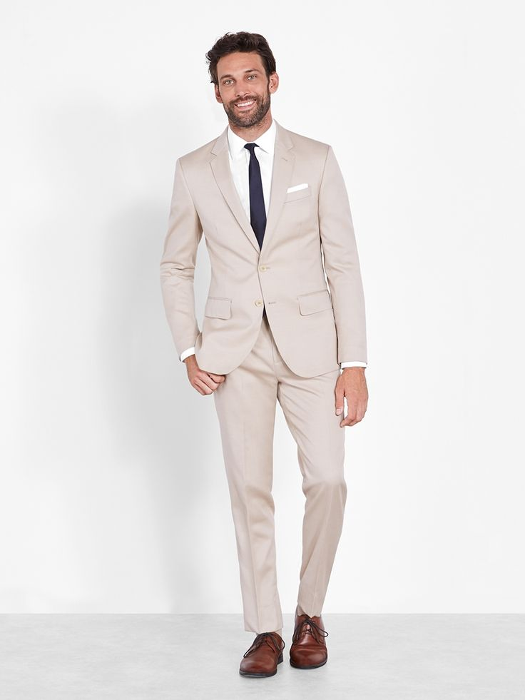 1000 ideas about tan suits on pinterest groomsmen for The tux builder