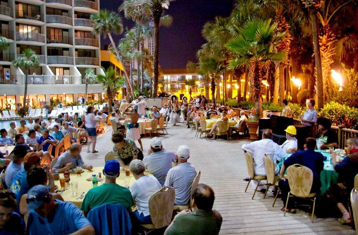 Holiday Inn Resort - Panama City Beach Hotel - A Luau!  Beachfront Family Resort