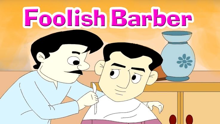 A Foolish Barber - Panchatantra Tales In English   Stories For Kids. Don't be a copy cat.