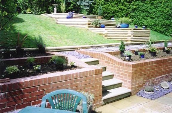 Brick Walls,Brick Walling,Garden Walls,Gardens Great & Small Landscape Gardeners