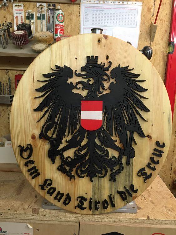 """""""Dem Land Tirol die Treue"""" Bastelanleitung zum selber basteln"""