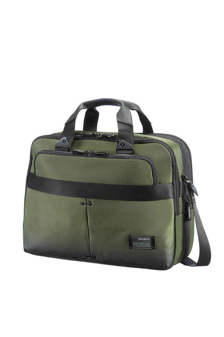 "CityVibe Urban Green Bailhandle 13 - 16"" #Samsonite #CityVibe #Travel #Suitcase #Luggage #Strong #Lightweight #MySamsonite #ByYourSide"