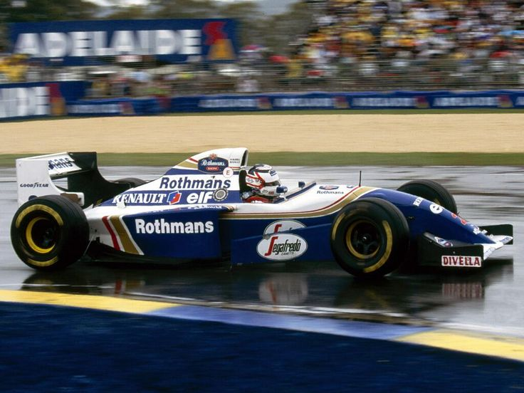 Nigel Mansell in a Williams-Renault at the 1994 Australian Grand Prix.