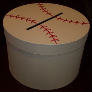 Baseball Wedding Gift Card Box : baseball themed wedding ideas baseball weddings softball wedding 3 ...