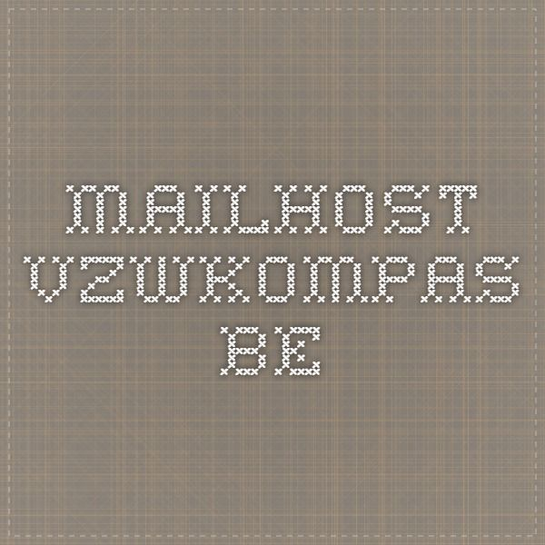 mailhost.vzwkompas.be