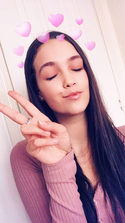 Snapchat filters Snapchat filters pink heart