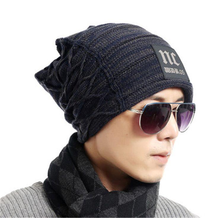 Autumn toca gorros beanie winter Knitting Wool Hat