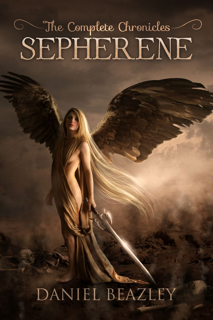 The incredible cover for Sepherene: The Complete Chronicles.
