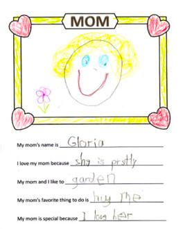 ... Day Fill In The Blank, Mothers Day Printable, Mothers Day Worksheet