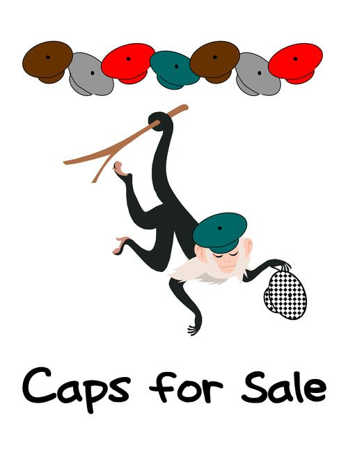 Caps for Sale Lapbook and Printables