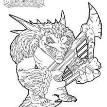 skylanders trap team coloring pages wolfgang