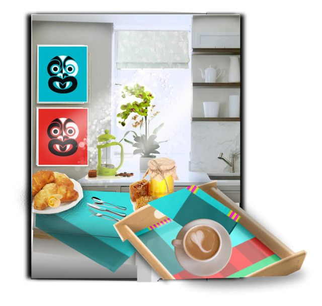 Breakfast Preparations ... by fallforit on Polyvore featuring the #tabledecor by #KBMD3signs available at #zazzle  http://www.zazzle.com/fallforit*?tc=p