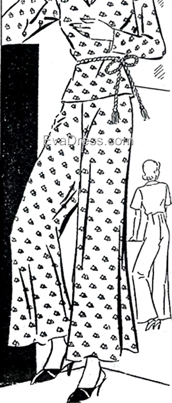 1933 Lounging Trousers, NL30-9833