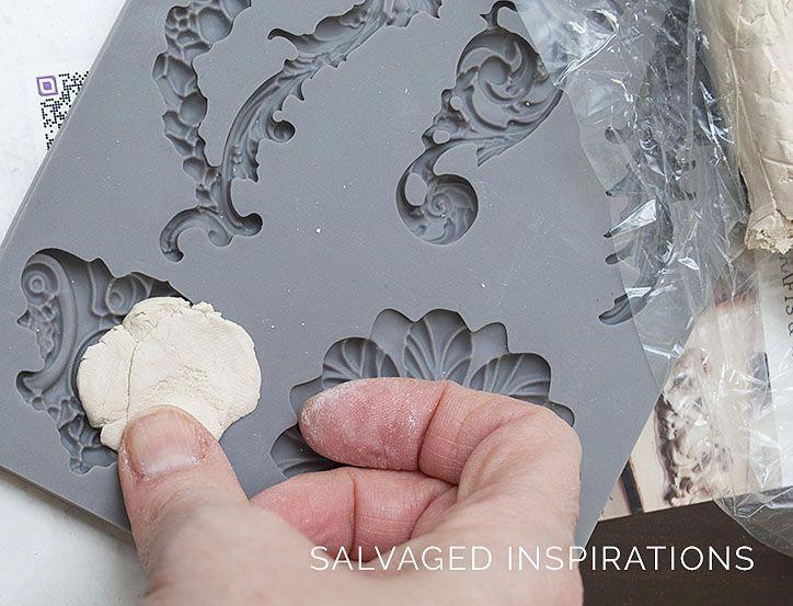 Diy furniture applique w iod molds salvaged inspirations