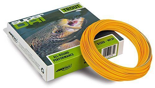 Airflo Super Dri Xceed Fly Line - WF6F - Lichen Green / Pumpkin Orange * Continue to the product at the image link.