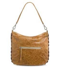 """Chimpel """"CHRISTY"""" Crocodile leather Slouch Handbag. Soft antique finished leather with all round crocodile leather gusset. Cape Town, South Africa"""