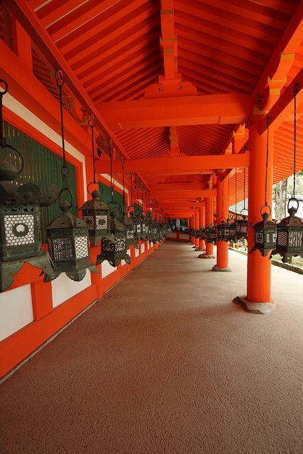 Lanterns-Nara, Japan
