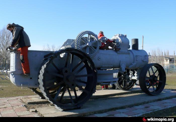 Немецкий паровой трактор - Власовка Ukraine / Luhanska / Izvaryne / Власовка