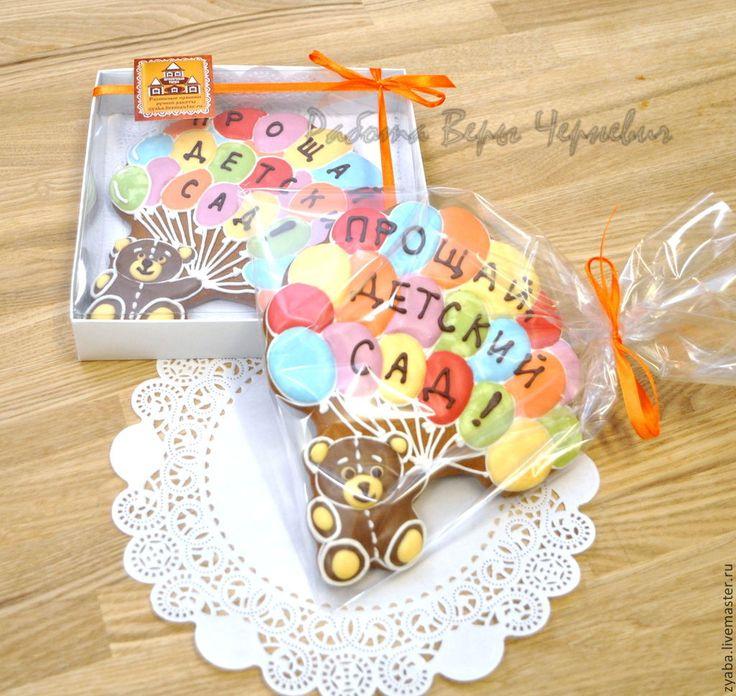 Купить Расписной пряник на выпускной в детский сад - пряник, расписные пряники, имбирное печенье