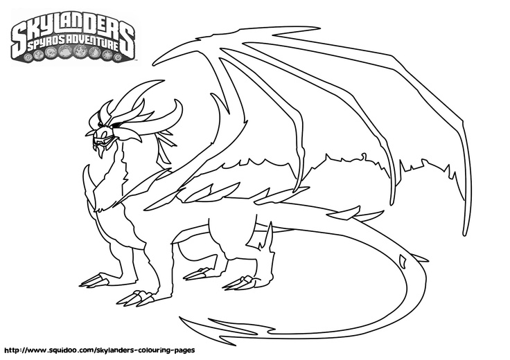 skylanders coloring pages terrafin restaurant - photo#18