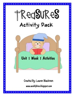 The Weekly Hive: Treasures Reading Units for the start of school.