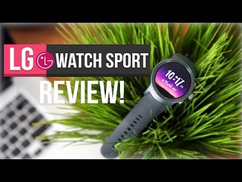 Android's Apple Watch Is here! (LG Watch Sport Review)