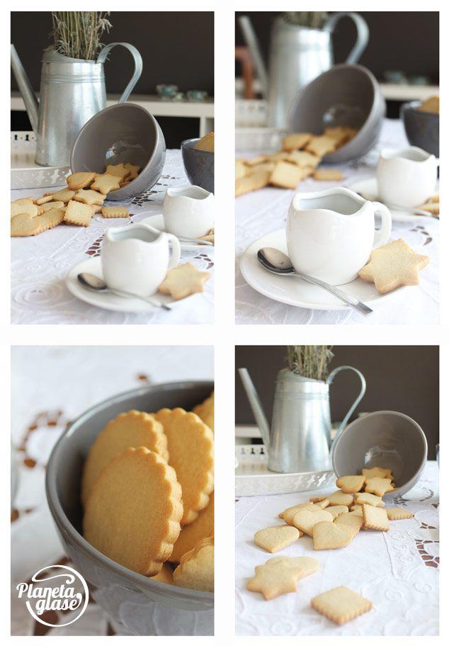 Planeta Glasé: Galletas de mantequilla